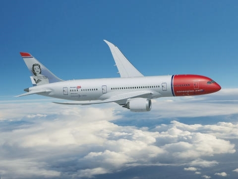 BOING 787-8 DREAMLINER 1/144 NORWEGIAN