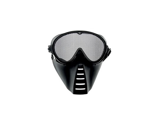 GRID MASK MEDIUM BLACK