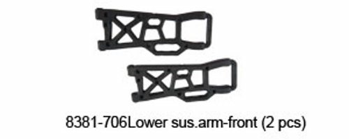 8381-706 LOWER SUSP.ARM FRONT
