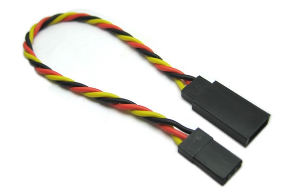 45CM 22AWG JR TWISTED EXTENSION WIRE