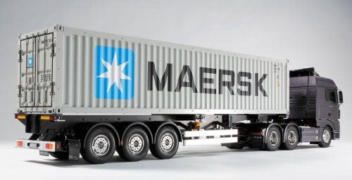 TAMIYA 40FT MAERSK SEMI-TRAILER