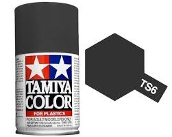 TS-6 Matt black spray