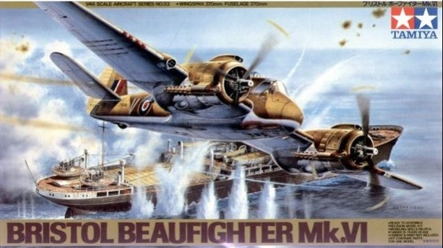 BRISTOL BEAUFIGHTER Mk.VI  1:48