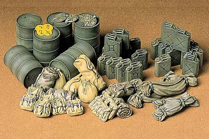 ALLIED VEHICLES ACCESSORIES  1:35 SKALA