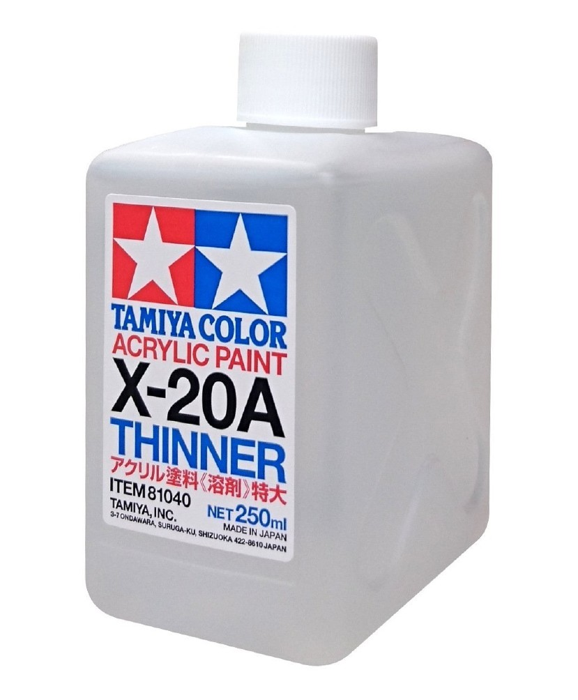 TAMIYA ACRYLIC THINNER 250ML