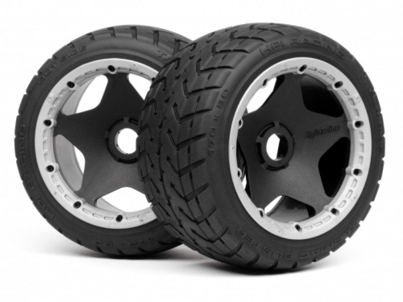 4743 MOUNTED TARMAC BUSTER TIRE