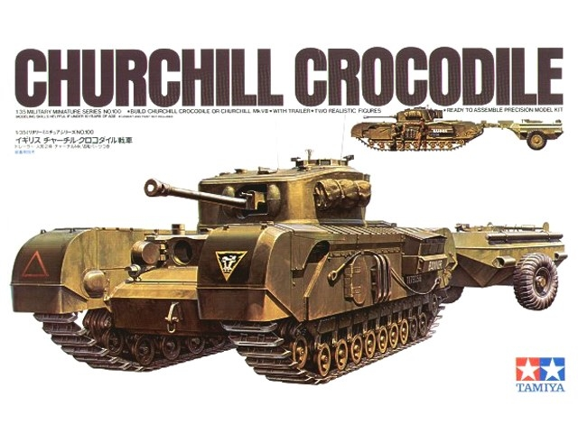 35100 CHURCHILL CROCODILE 1/35
