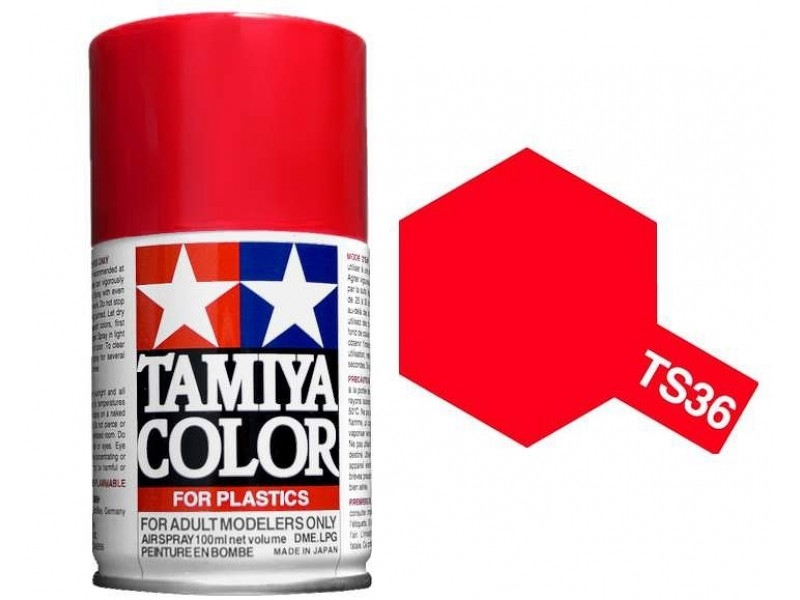 TS-36 FLUORESCENT RED