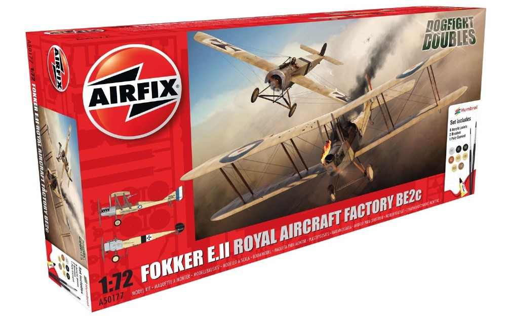 FOKKER E.II  / R.A FACTORY BE2C 1:72