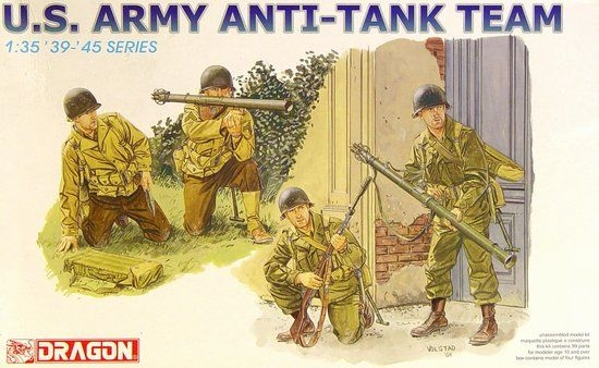 U.S ARMY ANTI-TANK TEAM