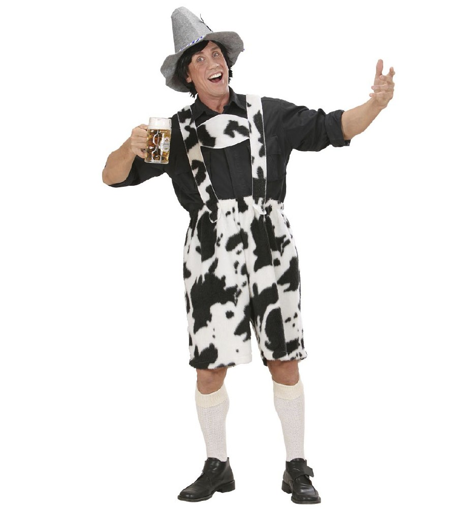 Cow Lederhosen-Medium