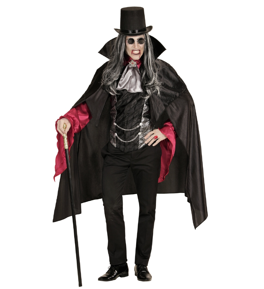 """""""VAMPIRE"""" (shirt with vest, jabot with m"""
