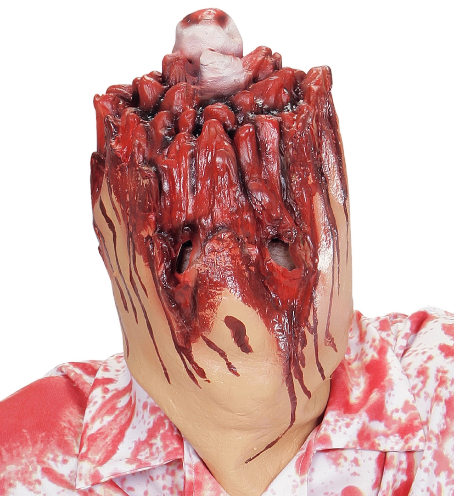"""SEVERED HEAD MASK"""