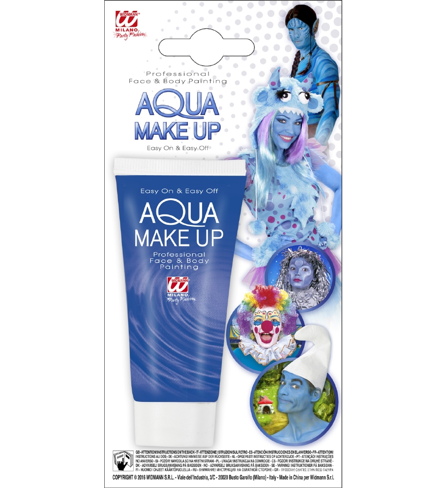 """BLUE AQUA MAKEUP IN TUBE"" 30 mL"