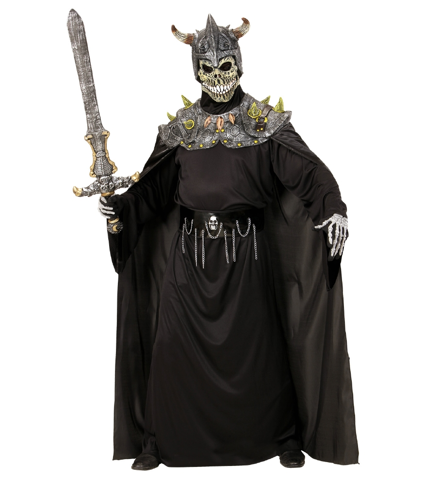 """""""DEATH WARLORD SKULL MASK WITH ARMOUR  C"""