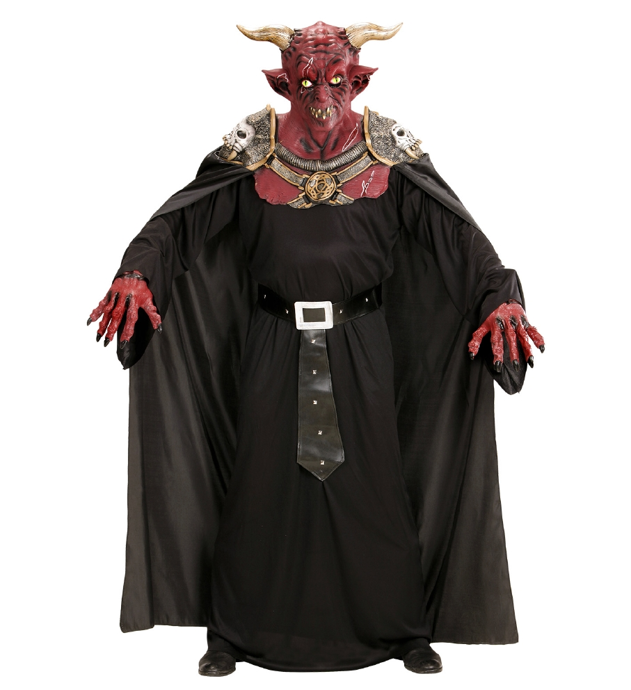 """""""INFERNO WARRIOR DEVIL MASK WITH ARMOUR"""