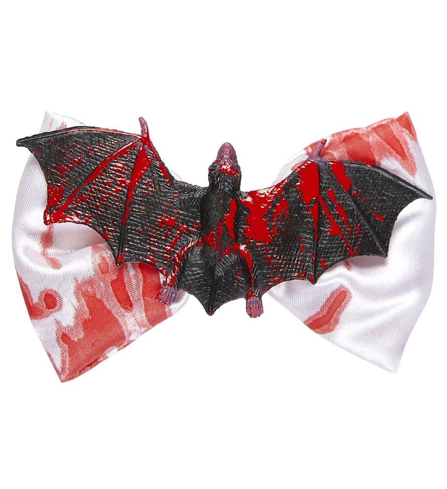 """BLOODY BAT BOW TIE"""