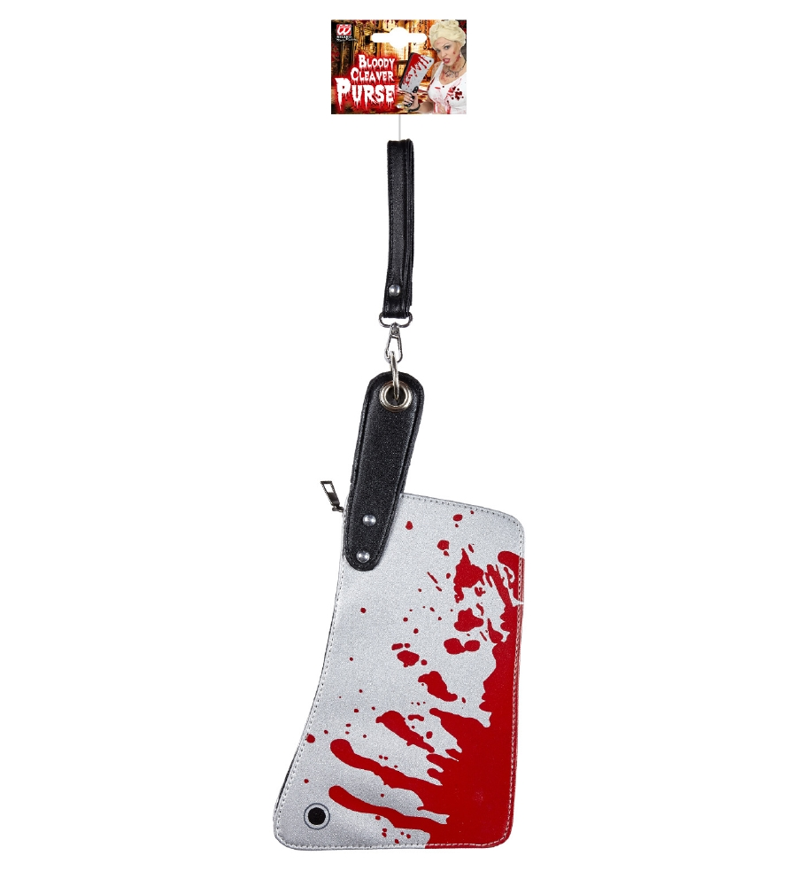 """BLOODY CLEAVER PURSE"""