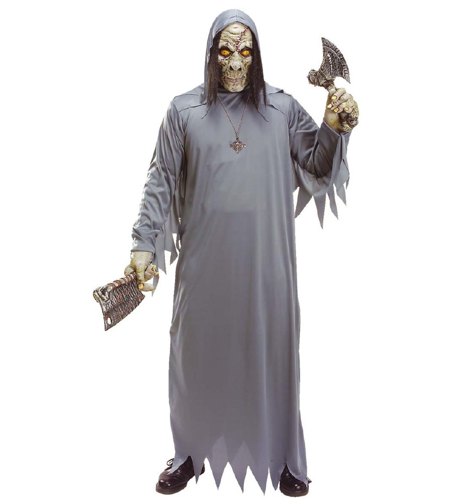 """""""ZOMBIE"""" (hooded mask, costume, hands)"""