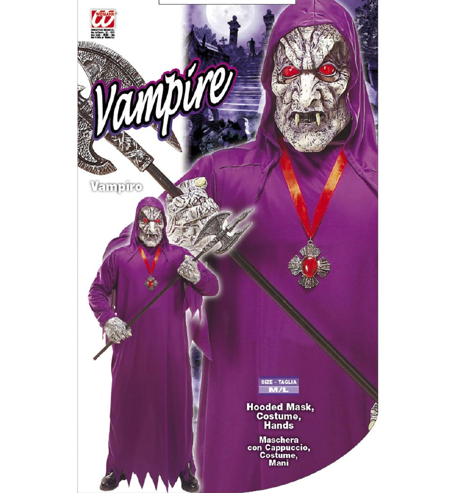 """VAMPIRE"" (hooded mask, costume, hands)"