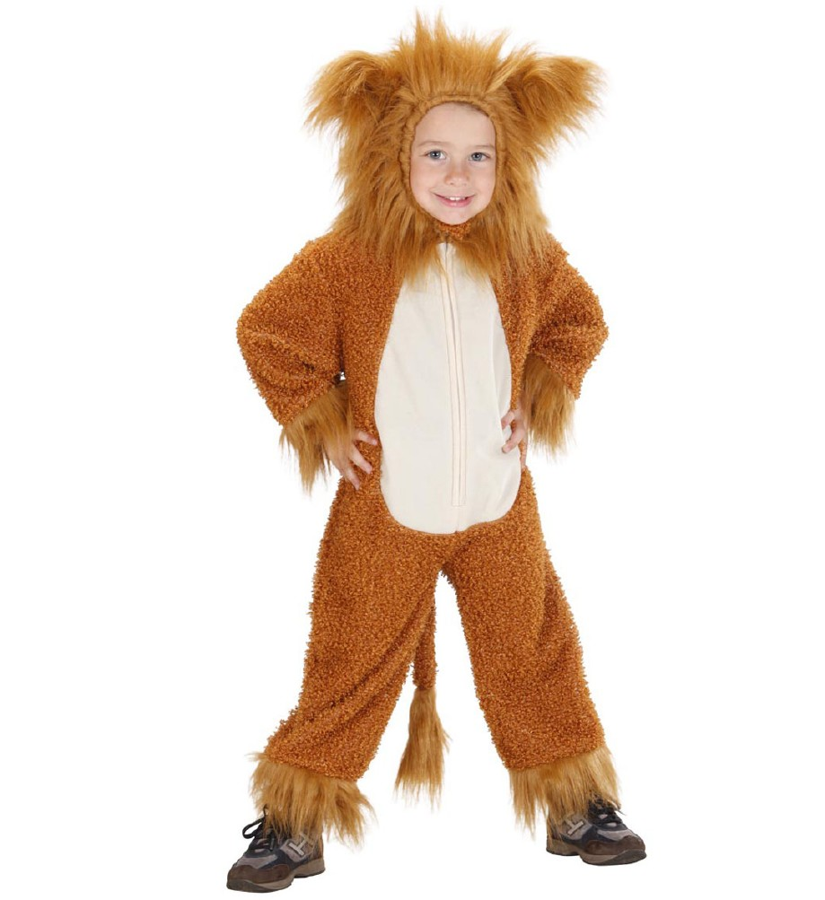"""FUZZY LION"" (hooded jumpsuit)"