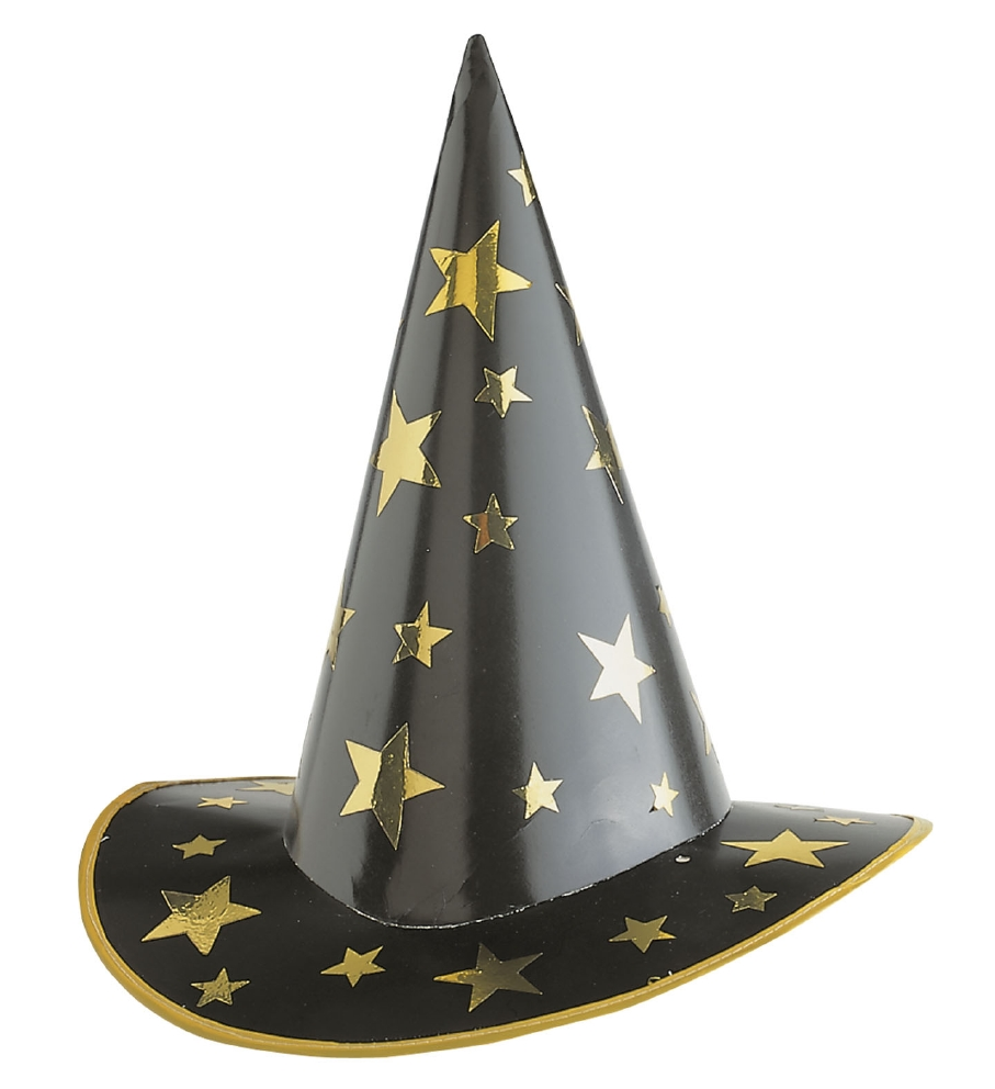 """WITCH / WIZARD HAT"" cardboard"
