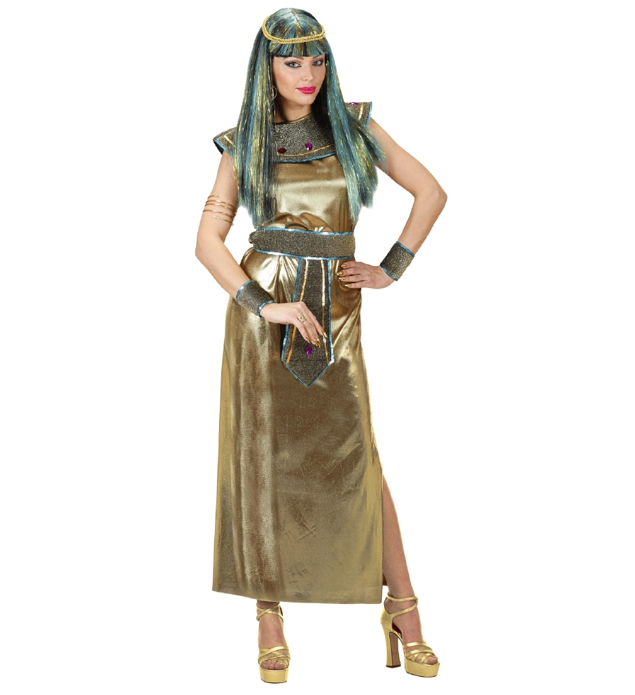"""CLEOPATRA"" (dress, collar and belt with"