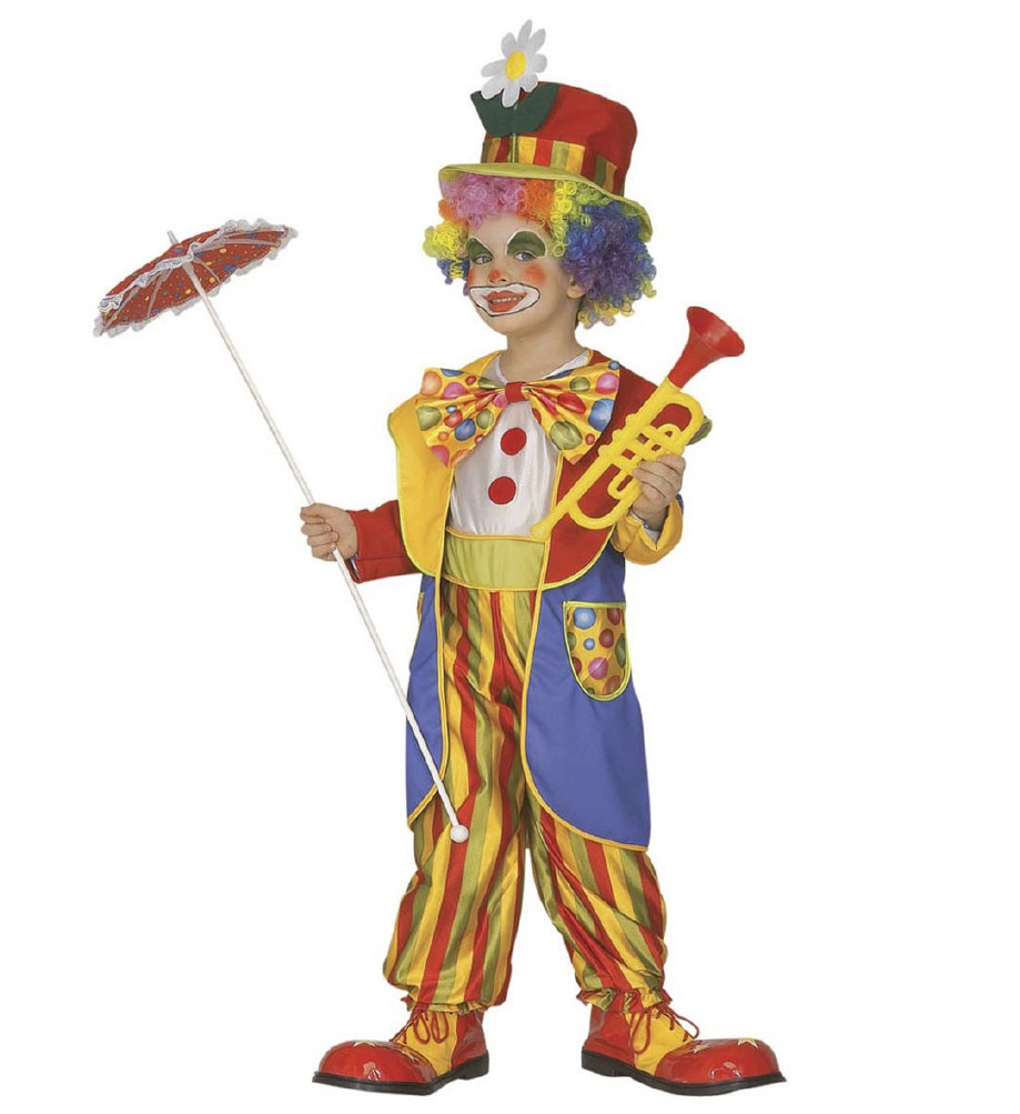 """CLOWN"" (jumpsuit, coat, bow tie, hat)"