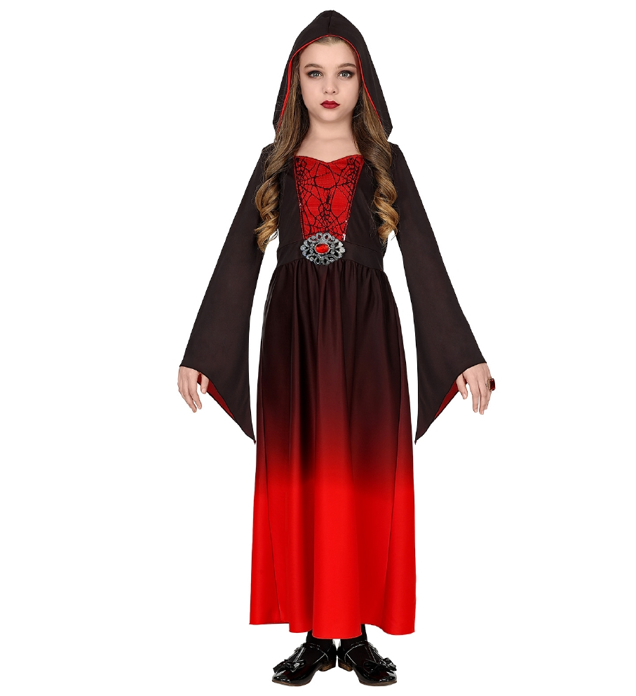 """GOTHIC LADY"" (hooded dress)"