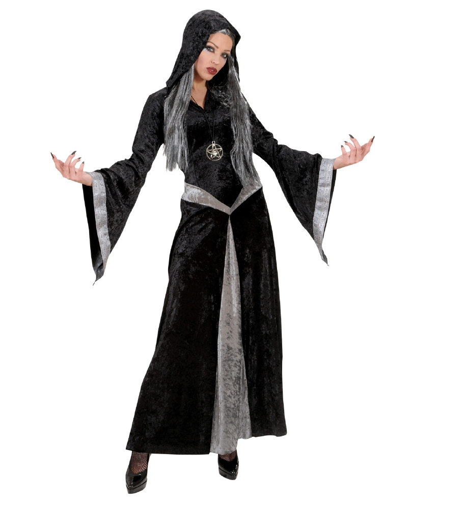 """""""SORCERESS"""" (hooded robe, necklacewith m"""