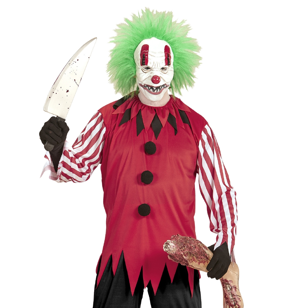 """HORROR CLOWN"" (coat, mask with wig)"