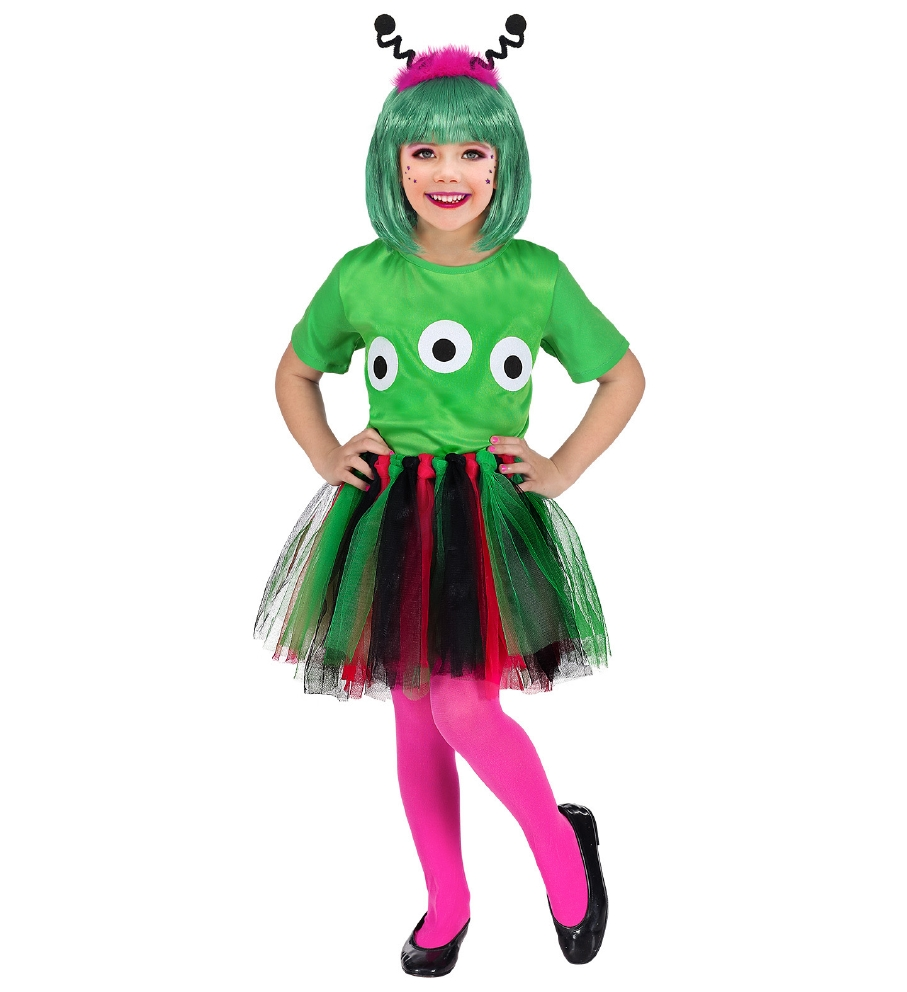 """ALIEN"" (T-shirt, tutu, head bopper)"