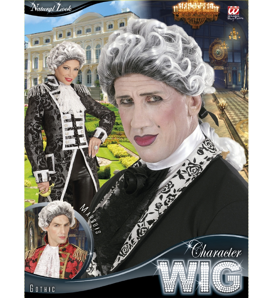 """GOTHIC MARQUIS/E WIG"" in box"