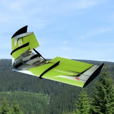 RC FACTORY ZORRO WING-GREEN