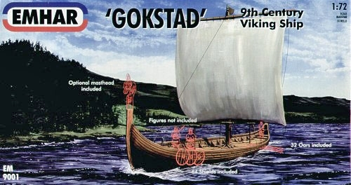 "VIKING SHIP ""GOKSTAD"" 1:72"