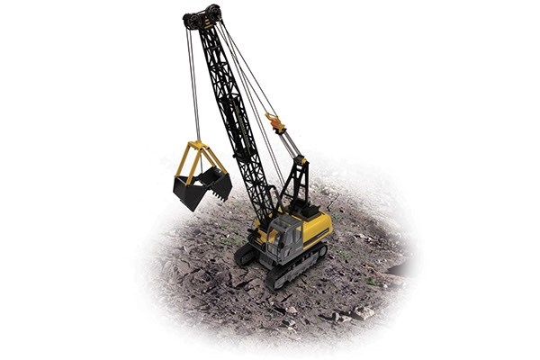 PREMIUM LABEL CRAWLER CRANE 1:12
