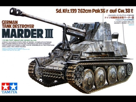 35248 MARDER III TANK DESTROYER