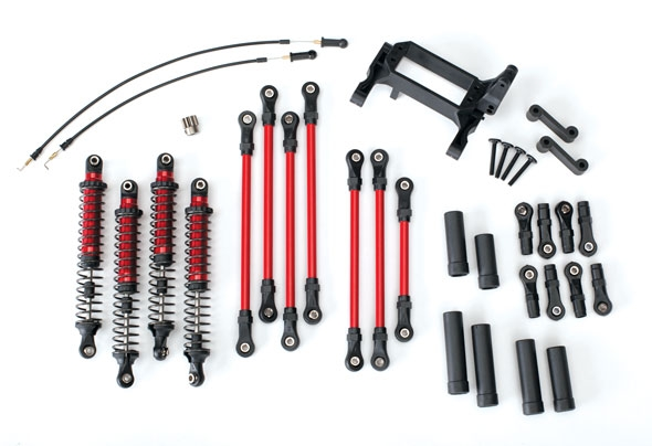 8140R LONG ARM LIFT KIT TRX-4 RED