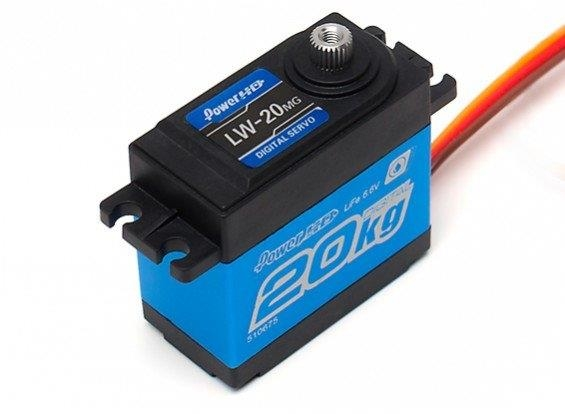 Power HD LW-20MG WATERPROOF 20KG SERVO