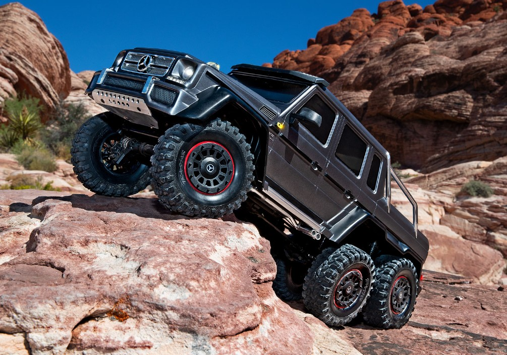TRX-6 MERCEDES BENZ 6X6 CRAWLER
