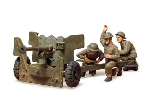 BRITISH ARMY ANTI-TANK GUN 1:35