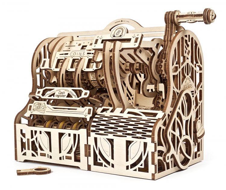 UGEARS CASH REGISTER  (405PCS)