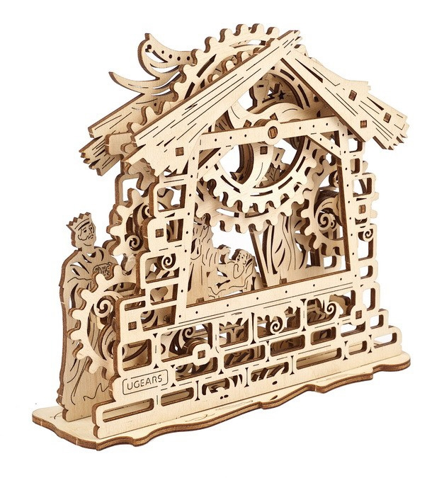 UGEARS NATIVITY SCENE (59 DELER)